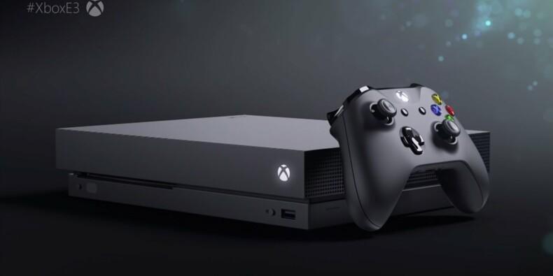 Xbox One X : Microsoft veut détrôner la PlayStation 4 de Sony