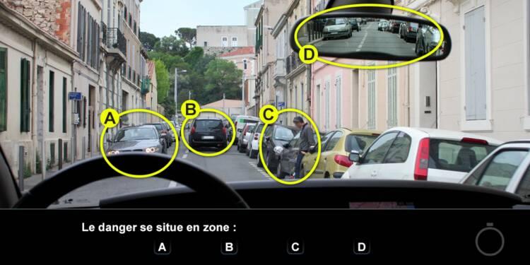 Code de la route, question 18 : danger