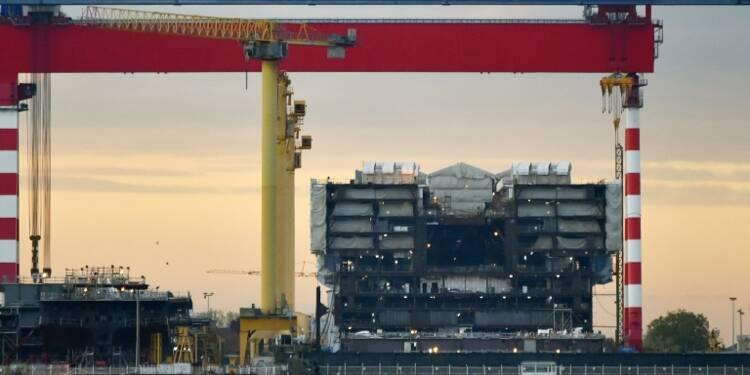 """Saint-Nazaire: l'Etat envisage une """"nationalisation transitoire"""""""