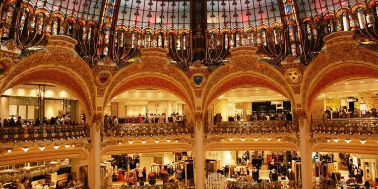 Galeries Lafayette : les touristes chinois dépensent 1.400 euros en moyenne !