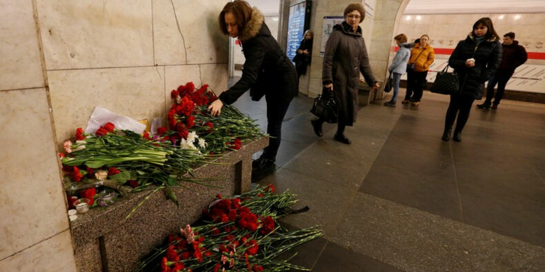 La thèse de l'attentat dans le métro de Saint-Pétersbourg confirmée