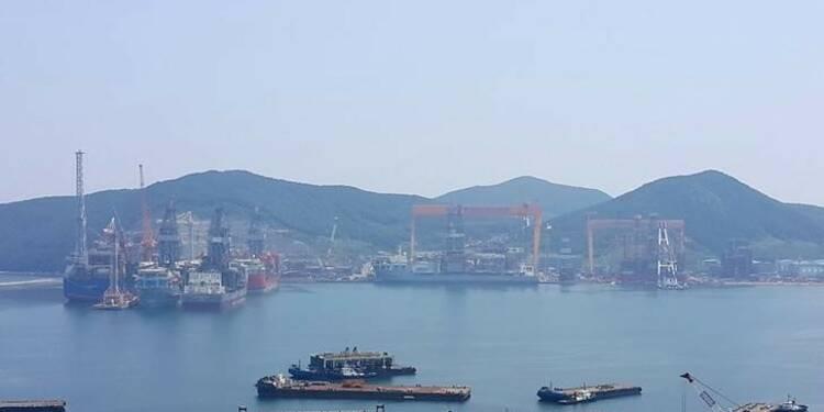 Séoul se prépare à renflouer les chantiers navals Daewoo