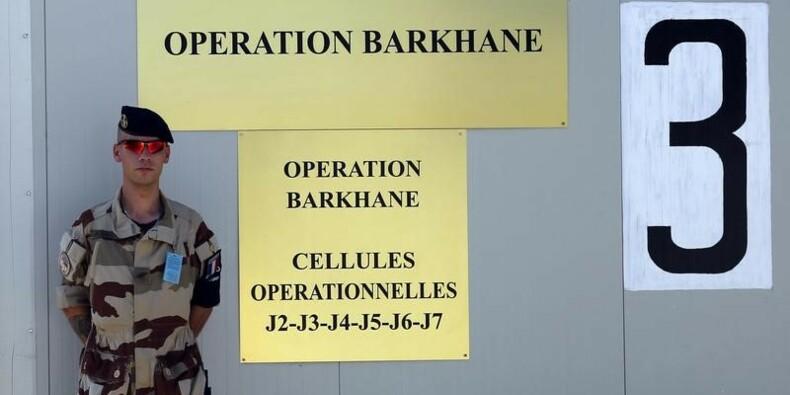 Marine Le Pen auprès de la force Barkhane au Tchad