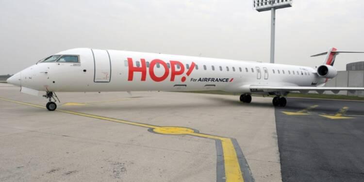 Grève à Hop!: la compagnie aérienne annule 15% de ses vols vendredi