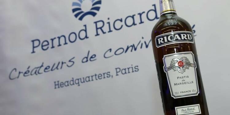 Pernod Ricard relève ses prix au Royaume-Uni avec le Brexit