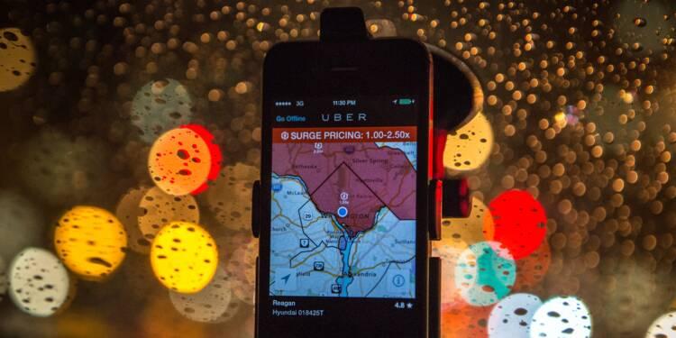 Les astuces d'Uber pour forcer les chauffeurs à rouler pour elle