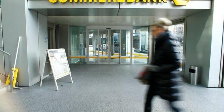 Commerzbank supprimera 7.800 emplois en Allemagne