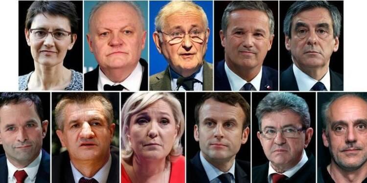 Présidentielle : craintes d'une cacophonie avant le débat inédit à 11 candidats