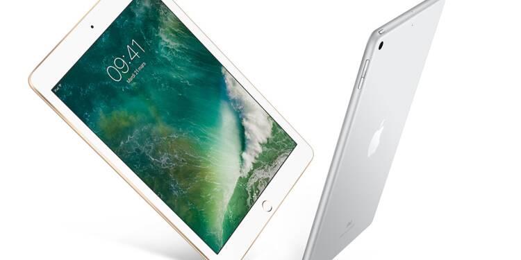 iPad : Apple lance un nouveau modèle à un prix plus raisonnable