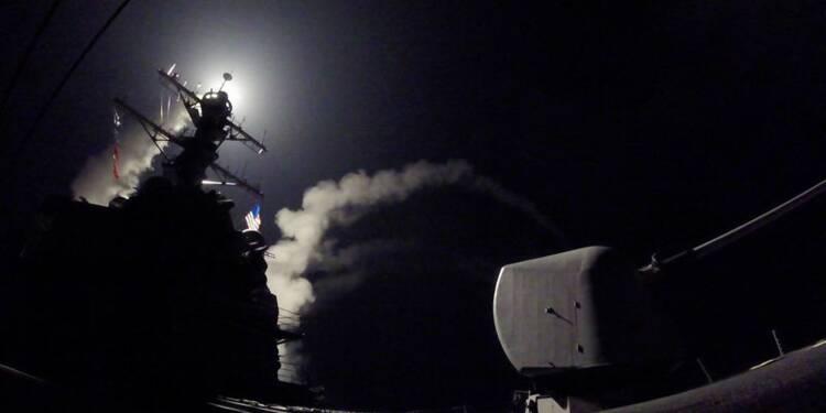 Les USA frappent en Syrie, Moscou met en garde