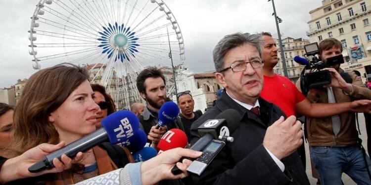 Mélenchon en ballottage favorable à Marseille