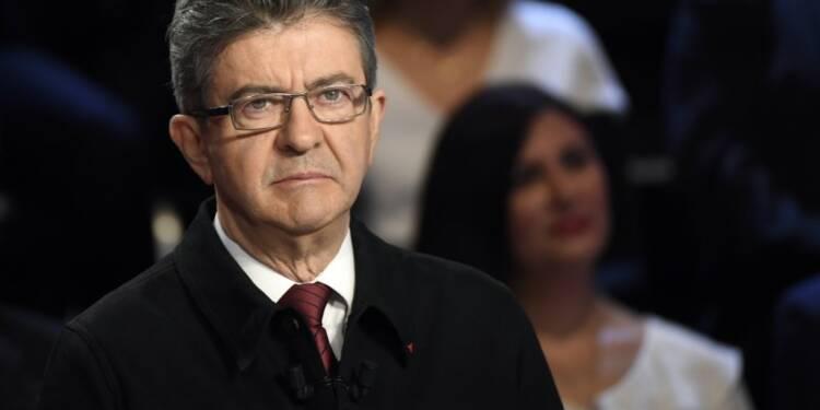 Mélenchon gagne deux points et se rapproche de Fillon, selon un sondage Opinionway