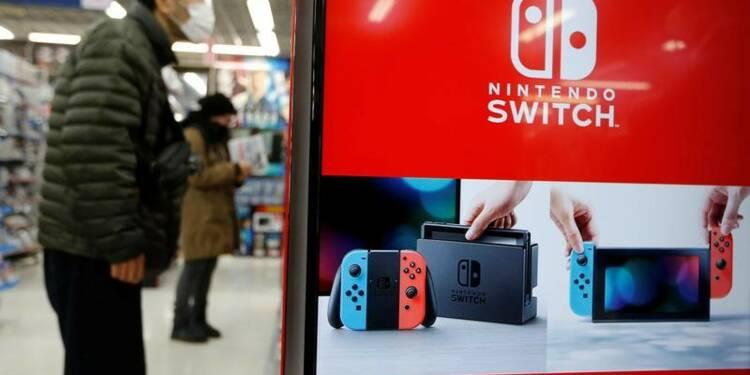 Nintendo porté par des informations positives sur la Switch
