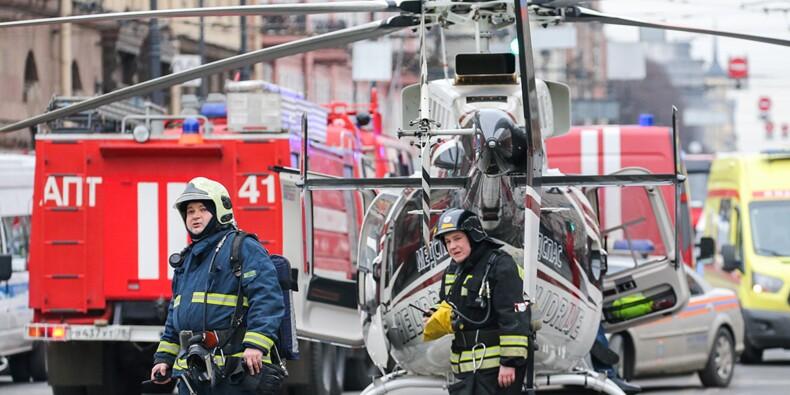 Explosion dans le métro de Saint-Pétersbourg : Poutine n'exclut pas la piste de l'attentat terroriste