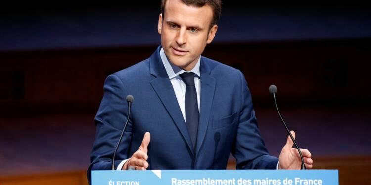Macron et Le Pen à égalité au premier tour, d'après un sondage Opinionway