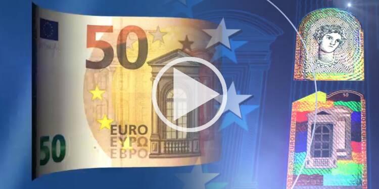 Nouveau billet de 50 euros : encore plus high tech