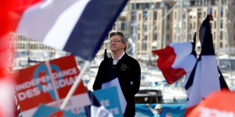 A Marseille, Mélenchon prône la paix et vise le second tour