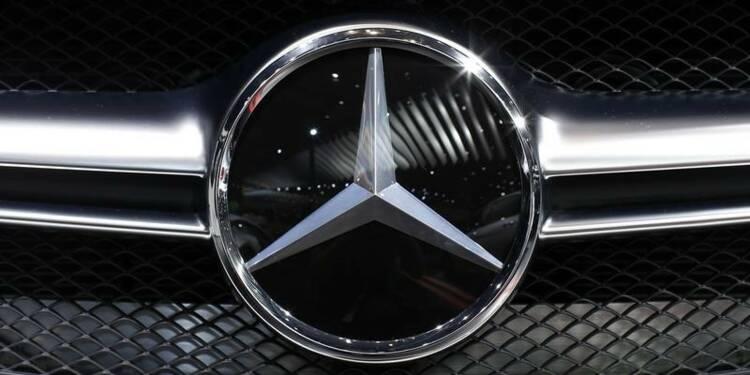 Plainte de propriétaires de véhicules Mercedes