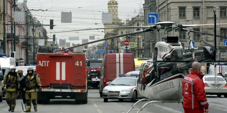 Les stations du métro de Saint-Pétersbourg fermées après l'explosion (agences)