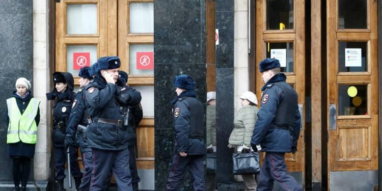 Attentat de Saint-Pétersbourg: Suspect identifié, 14 morts