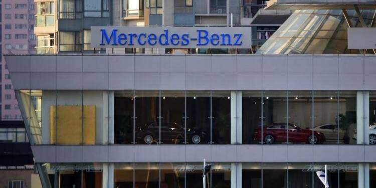 Daimler: Ventes de Mercedes-Benz en hausse de 14,8% en mars