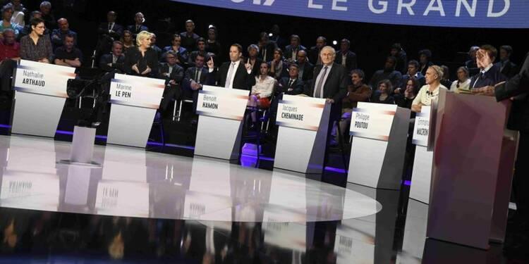Frustration et satisfaction après le débat à onze candidats