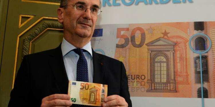 Un nouveau billet de 50 euros, plus sûr, lancé dans la zone euro
