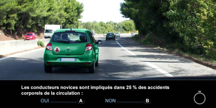 Code la route, question 22 : accidents