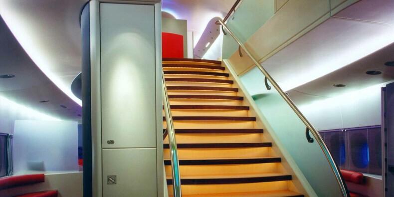 Airbus abandonne l'escalier de palace de l'A380 pour ajouter des sièges