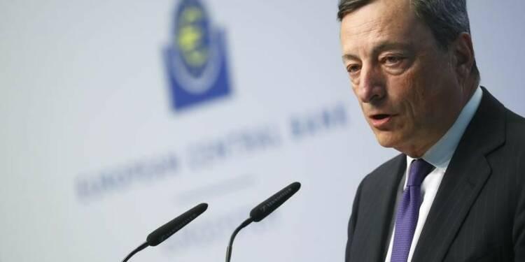 La reprise sur les rails malgré les incertitudes politiques, dit Draghi