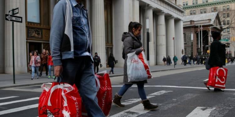 Faible hausse de la consommation des ménages aux USA en février