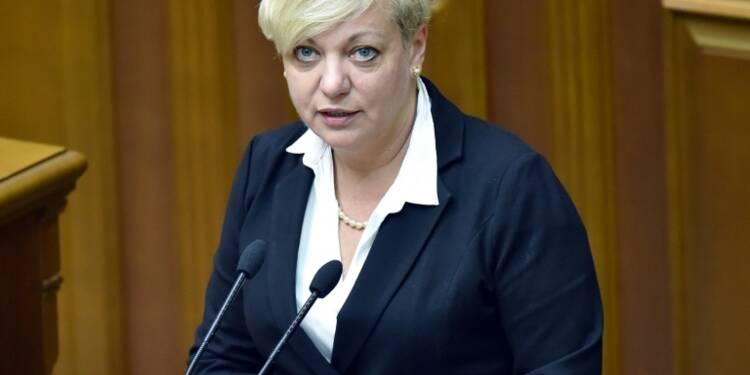 Démission de la présidente  de la banque centrale d'Ukraine