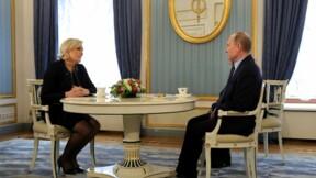 Marine Le Pen reçue par Poutine à Moscou