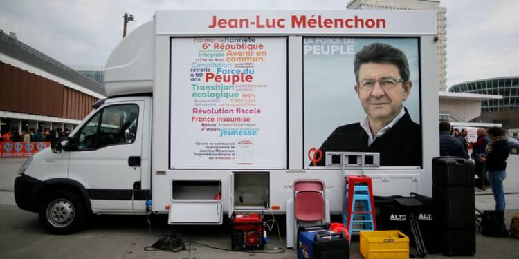 """Mélenchon se voit en """"figure rassurante"""" pour les Français"""