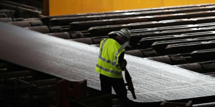 Les Etats-Unis imposent des taxes à des importations d'acier d'Europe et d'Asie