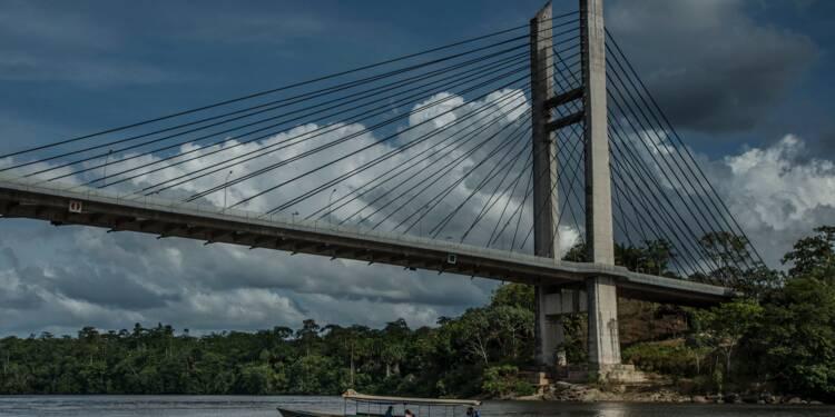 Guyane : l'incroyable gaspillage du pont avec le Brésil