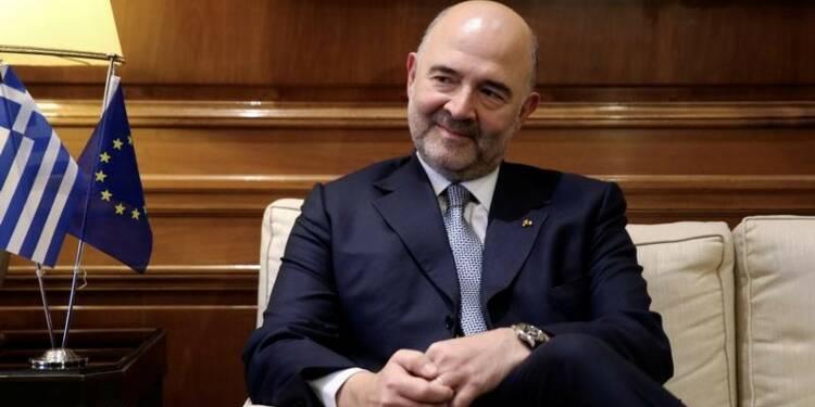 Accord avec Athènes possible dans les semaines à venir, déclare Moscovici
