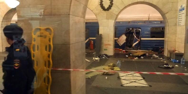 Attentat dans le métro de Saint-Pétersbourg, une dizaine de morts