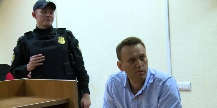 Manifestations en Russie: Navalny condamné à 30 jours de prison