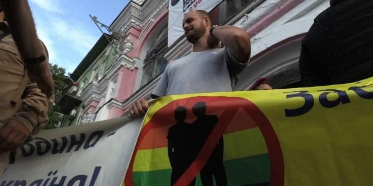 Kiev: manifestation anti-LGBT en marge de la Semaine des Fiertés