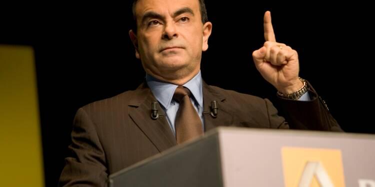 Carlos Ghosn a gagné plus de 100 millions d'euros depuis qu'il dirige Renault-Nissan