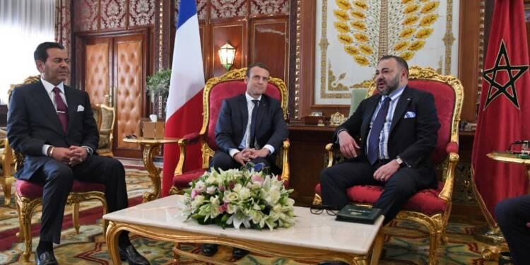 A Rabat, Macron acte l'entente avec le Maroc sur les crises régionales
