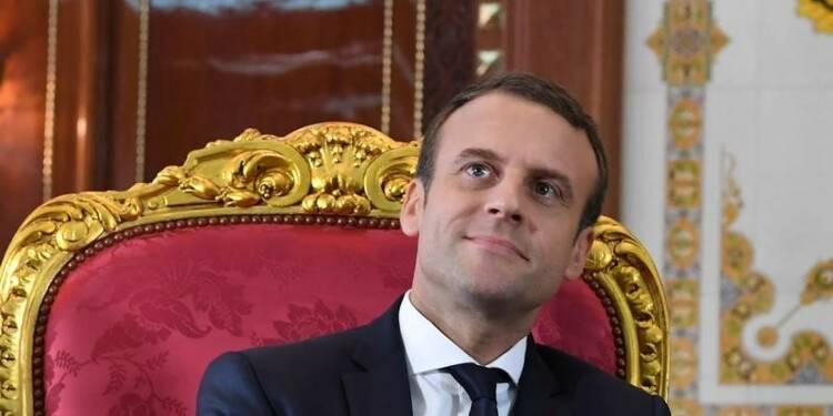 Macron obtiendrait une large majorité absolue, selon deux sondages