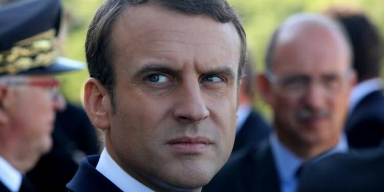 """Macron se présente en chef d'une France """"nation des start-ups"""""""