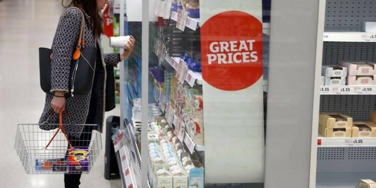 Grande-Bretagne: Baisse plus forte que prévu des ventes au détail