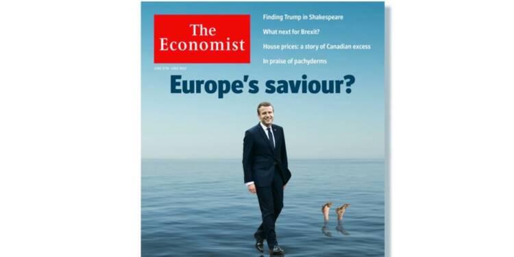 The Economist est fou d'amour pour Macron et la France (pas comme en 2012)
