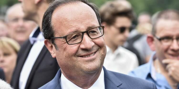 Le patrimoine de François Hollande a grossi de 80.000 euros pendant le quinquennat