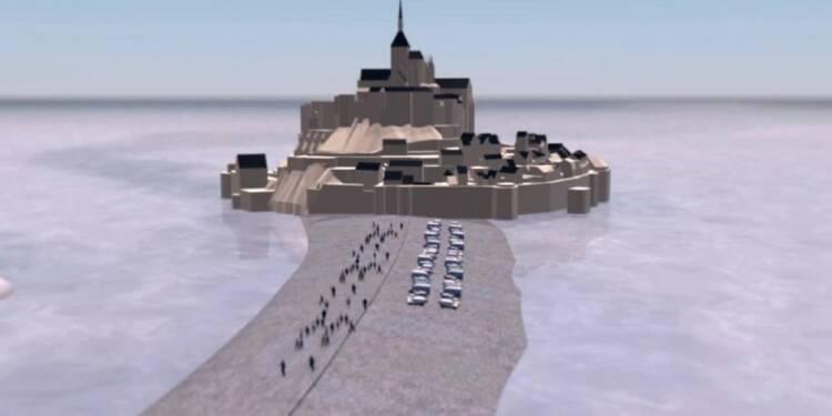 Le Mont Saint Michel redevient une île