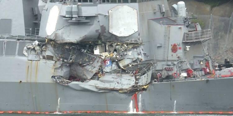 Japon: 7 marins retrouvés morts dans le destroyer inondé