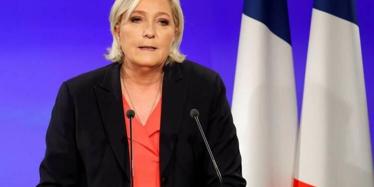 Le Pen élue députée, annonce le FN